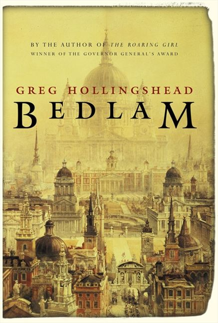 Bedlam book cover image