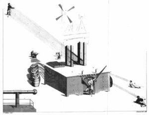 Original Air Loom etching image
